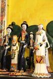 Zadziwiająca Meksykańska Szklana sztuka w Puerto Penasco, Meksyk Zdjęcia Royalty Free