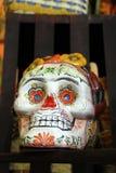Zadziwiająca Meksykańska Szklana sztuki czaszka w Puerto Penasco, Meksyk Zdjęcia Royalty Free