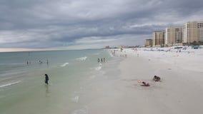 Zadziwiająca natura i plaże w Floryda Clearwater fotografia royalty free