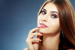 Zadziwiająca piękna kobieta Zdjęcie Stock