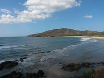 zadziwiająca plaża Zdjęcia Stock