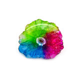 Zadziwiająca słoneczna druzy kwarc Fotografia Stock