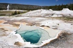 zadziwiająca sceneria Yellowstone Zdjęcia Stock