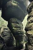 Zadziwiająca skały forma Obraz Royalty Free