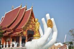 Zadziwiająca Tajlandzka świątynia Zdjęcia Royalty Free