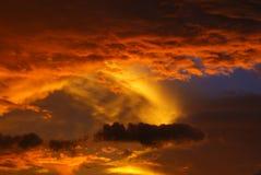 zadziwiające chmury Obrazy Stock