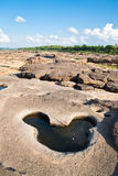 zadziwiającego jaru naturalna skała Fotografia Royalty Free