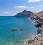 zadziwiający czerń krajobrazu morze Zdjęcia Stock