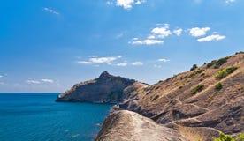 zadziwiający czerń krajobrazu morze Obrazy Stock