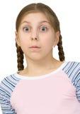 zadziwiający dziewczyną jest Obraz Stock