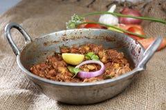 Zadziwiający Indiański korzenny kurczak roastbest dla zdrowie obrazy stock
