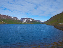 Zadziwiający landcape w Iceland, piękny miejsce przeznaczenia Obraz Stock