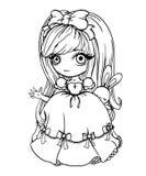 Zadziwiający mały princess Obrazy Stock