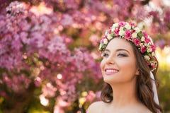 Zadziwiający naturalnej wiosny piękno obraz stock