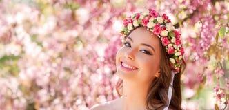 Zadziwiający naturalnej wiosny piękno obrazy stock