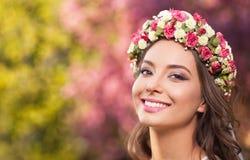 Zadziwiający naturalnej wiosny piękno zdjęcie stock