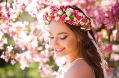 Zadziwiający naturalnej wiosny piękno fotografia stock