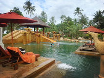 Zadziwiający pływacki basen Obraz Stock
