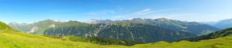 Zadziwiający panoramiczny krajobraz Zdjęcia Stock