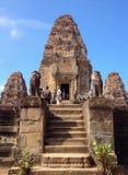 Zadziwiający Pre Rup świątynię w Angkor Archeological parku, Siem Przeprowadza żniwa, Kambodża Obrazy Royalty Free