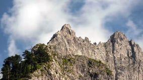 Zadziwiający widok Spokojna Halna dolina, Prokletije park narodowy, Montenegro obraz royalty free