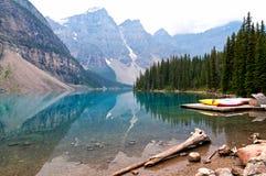 Zadziwiający widok w górach fotografia royalty free