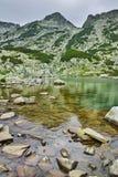 Zadziwiający widok wokoło Samodivski jezior, Pirin góra Zdjęcie Royalty Free