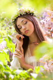 Zadziwiający wiosny piękno fotografia royalty free