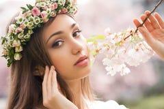 Zadziwiający wiosny piękno zdjęcia royalty free