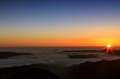 Zadziwiający wschód słońca Zdjęcia Royalty Free