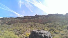 zadziwiająca krajobrazowa góra Zdjęcia Royalty Free