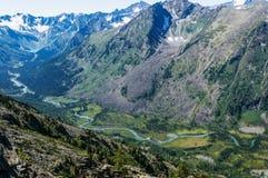 zadziwiająca krajobrazowa góra Zdjęcie Royalty Free