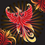 zadziwiający firebird Fotografia Royalty Free