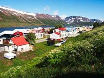 Zadziwiający icelandic krajobraz Fotografia Stock
