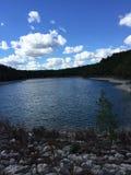Zadziwiający Jeziorny widok Zdjęcia Stock