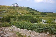 Zadziwiający krajobraz blisko Siedem Rila jezior Obrazy Royalty Free