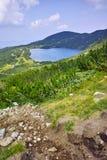 Zadziwiający krajobraz Niski jezioro Siedem Rila jezior Obraz Stock