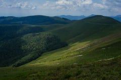 Zadziwiający krajobrazowy Targ Jiu Zdjęcia Stock