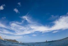 zadziwiający niebo Zdjęcie Royalty Free