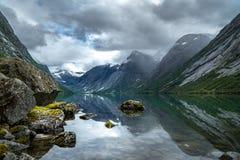 Zadziwiający Norweski fjord Zdjęcia Stock