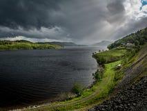 Zadziwiający Norweski fjord Zdjęcia Royalty Free