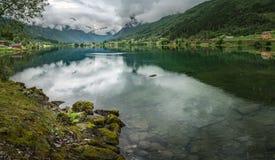 Zadziwiający Norweski fjord Zdjęcie Stock