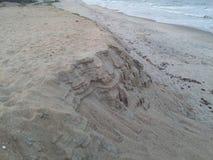 Zadziwiający piaska bar Zdjęcie Royalty Free