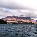 Zadziwiający queenstow nowy Zealand Zdjęcie Royalty Free