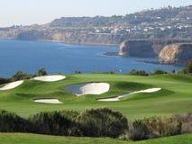 zadziwiająca golfowa dziura Zdjęcie Stock