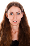 Zadziwiająca młoda kobieta Zdjęcia Stock