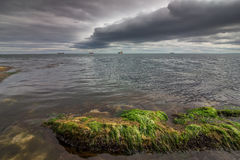 Zadziwiające burzowe chmury Zdjęcie Royalty Free
