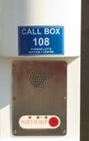 zadzwoń do pudełko wypadek Obrazy Stock