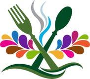 zadzwonił do krojenia chleba festiwal się kupusijada logo żywności mięsa zdjęcia mrcajevci restauracja sześć stolików royalty ilustracja