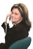 zadzwonić do kobiet Obraz Stock